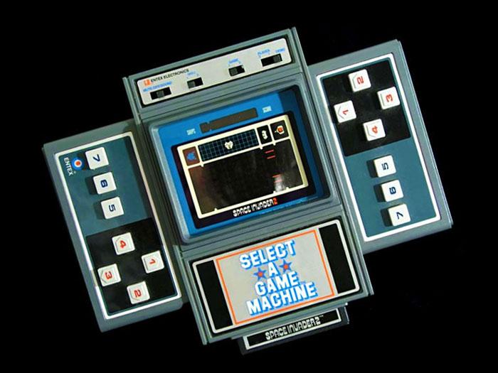 Select-A-Game Machine