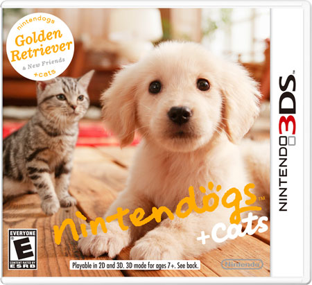 Nintendogs + Cats on 3DS
