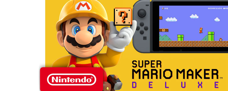 Super Mario Maker 2 on Nintendo Switch