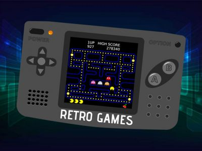 Retro Games HandHeld