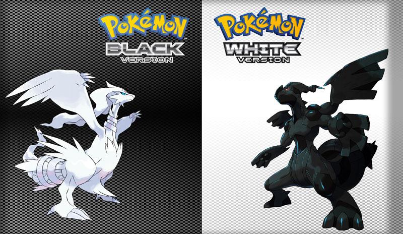 Pokemon Black and White handheld game